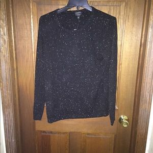 Talbots donegal cashmere sweater NWT lLarge